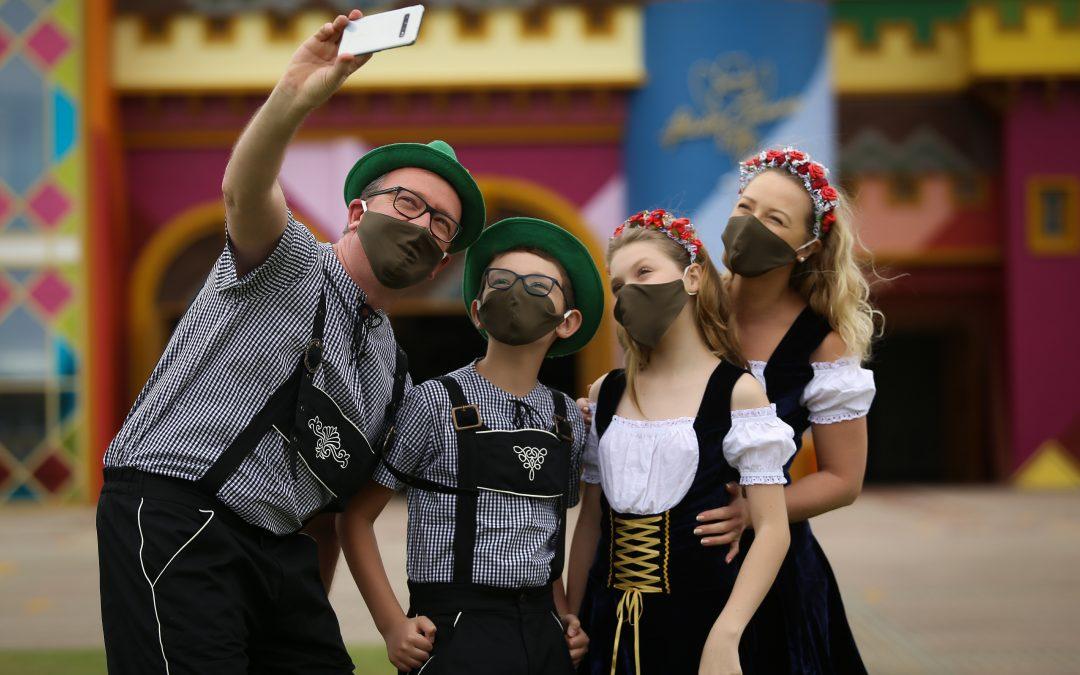 Outubro: criança grátis e Oktoberfest no Beto Carrero